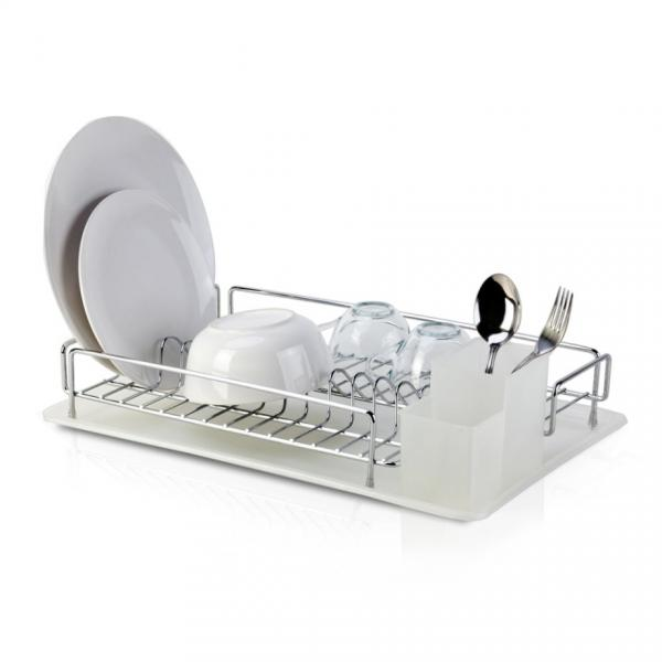 Сушилник за чинии 1 ниво Хром