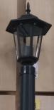 Външна лампа Spectra стояща 90см черна