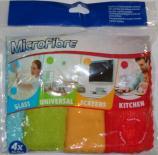 Комплект 4бр микрофибърни кърпи MC-001 SS12