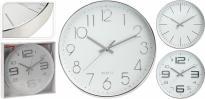 Стенен часовник 30х43 см сребро