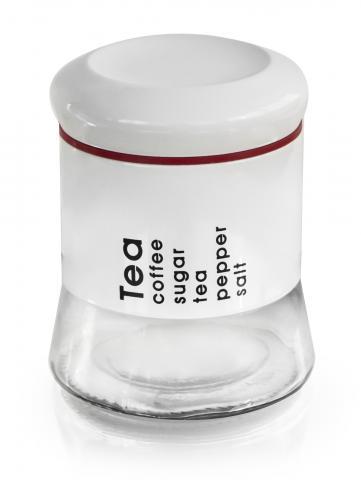 Буркан 0,750 ml бял