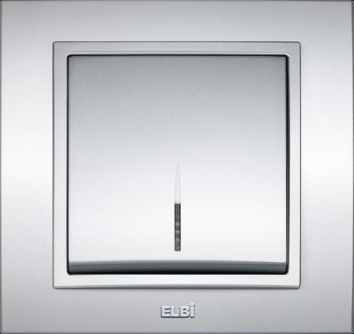 Zena мет.сив кл.единичен С LED