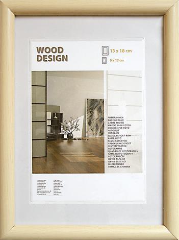 Дърв.рамка Будапеща 10,5х15нат
