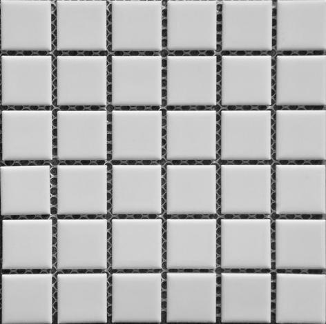 Керамична мозайка бяла