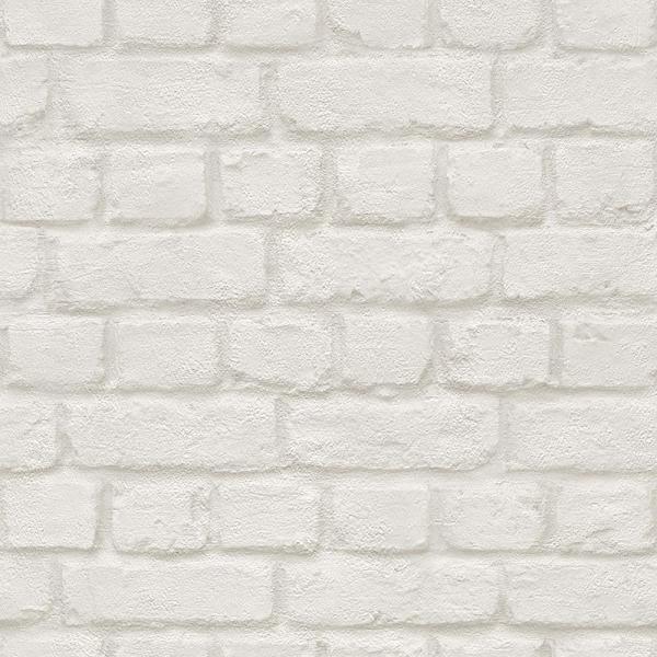 тапет Бестселър тухли бяло