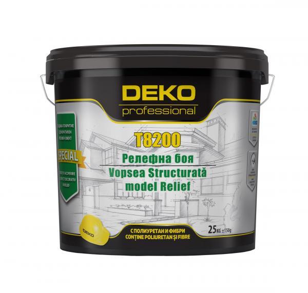 Декоративна релефна мазилка Deko Professional 25 кг, бяла