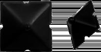 Гвоздей М.2-28 пирамидален черен комплект 10 бр.
