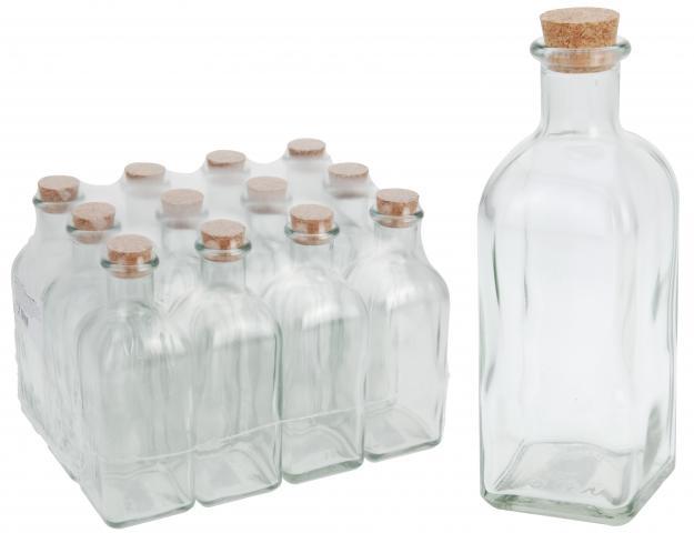 Стъклена бутилка 500 ml