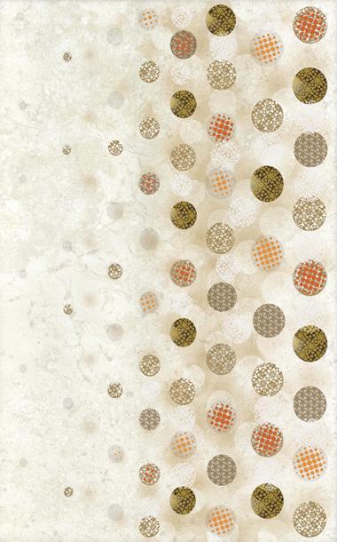 Декоративна плочка за баня Corso Bubbles Brown