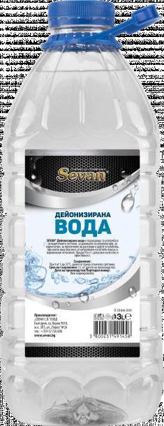 SEVAN дестилирана вода 3л