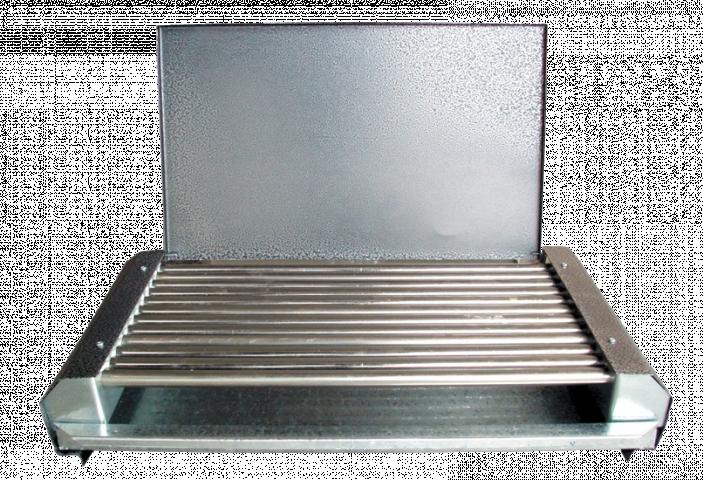 Електрическа скара с капак 1600 W, 12 ребра