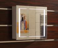 Огледален шкаф с LED осветление