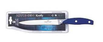 Универсален нож с гумена дръжка, 13см