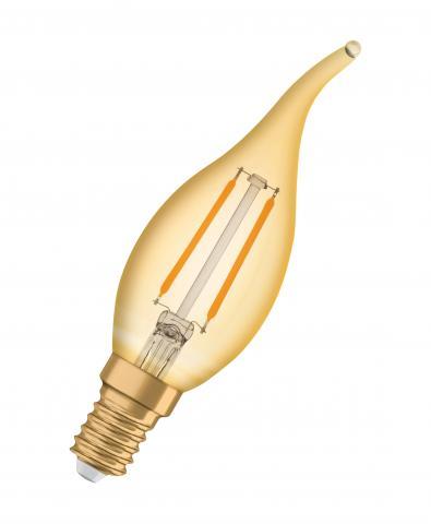 Vintage LED пламък Е14 2.5W 2500K