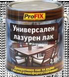 Лазурен лак алкиден Profix  2.5 л, махагон