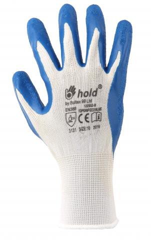 Ръкавици топени в латекс Topgrip Eco Blue №9 2