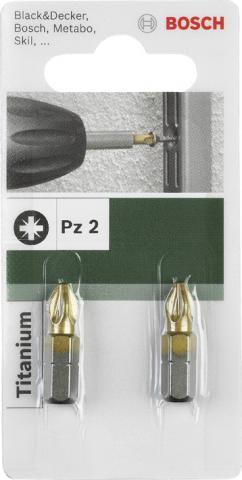 Бит Bosch Titanium PZ1 25мм