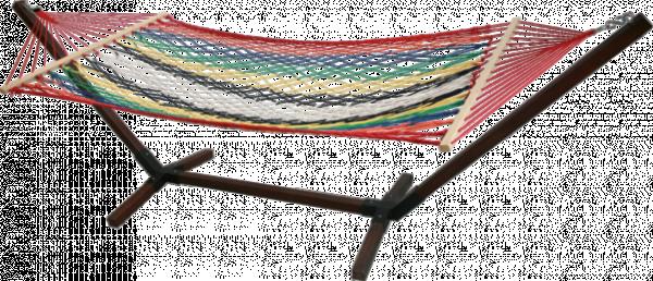 Хамак с дървена стойка