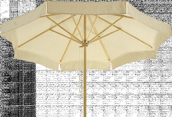 чадър с дървена рамка 2.5M