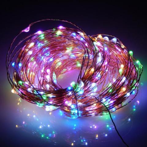 Медно жилен кабел 10м/100LED многоцветно OUT 2