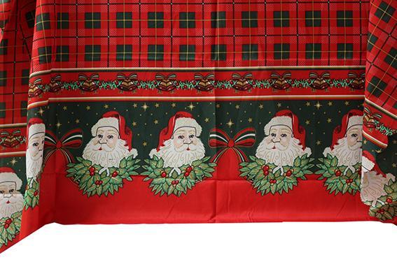 Покривка Коледна лукс 150х220