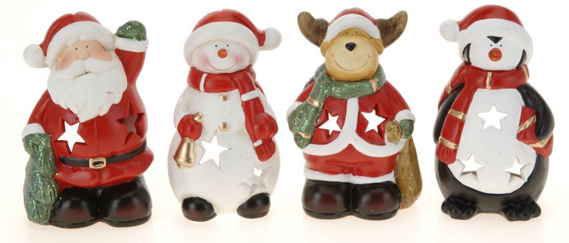 Свещник Коледна фигурка