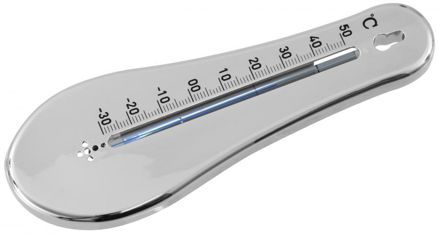 Термометър 15 см. хром