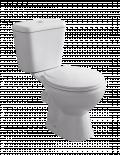 Порцеланов моноблок с тоалетна седалка