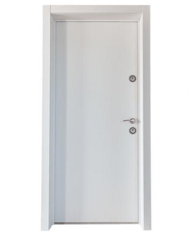 Вътрешна входна врата Евростилл, лява, 90/200, Alcor, Melinga White