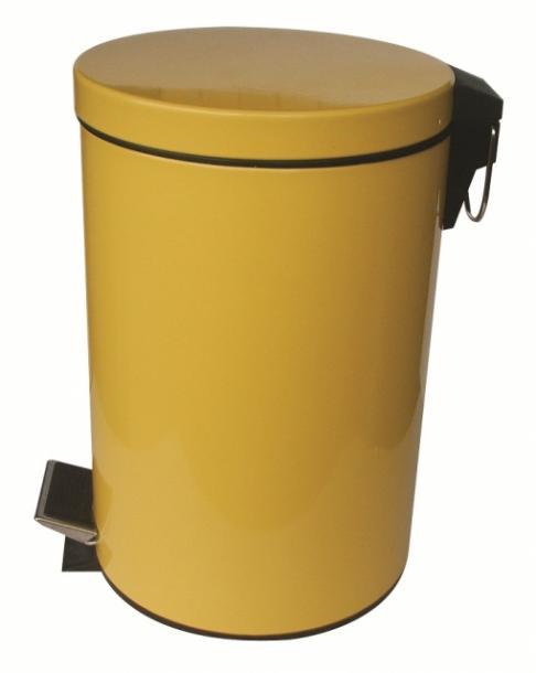 Тоалетно кошче 12л жълто