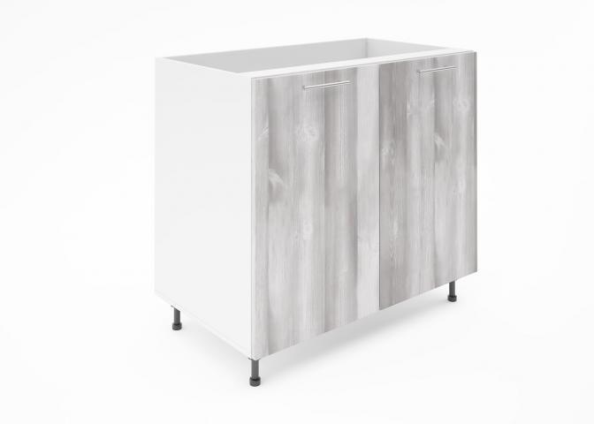 Крафт D6 долен шкаф с две врати (за мивка) 90см, дъб пикардия