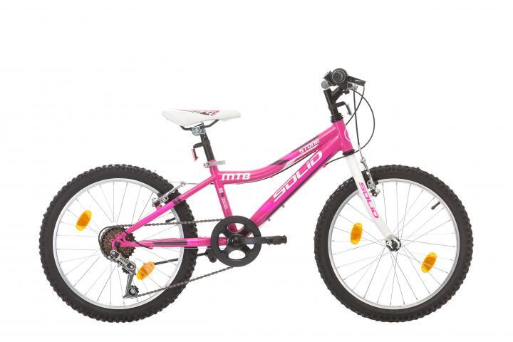"Велосипед STONE 20"" розов блясък"