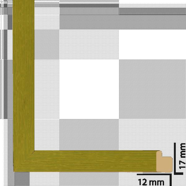 Рамка дърво 21х30 см зелено