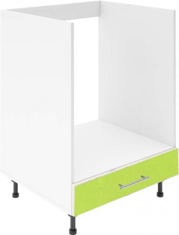 Крафт D8 долен шкаф за фурна 60см, зелен гланц