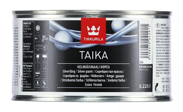 Декоративна боя Taika HM 0.225л, сребро