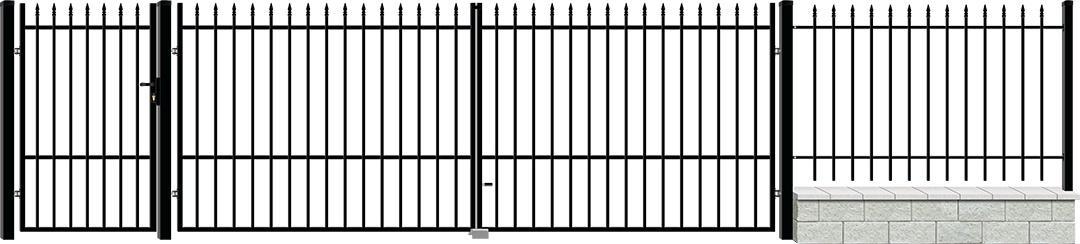 Врата МАLTA дясно отваряне с панти 2