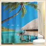 Завеса за баня декор 11