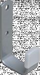 Държач за джанти, бял алуминий