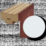 Каса Standard дясна база, бяла
