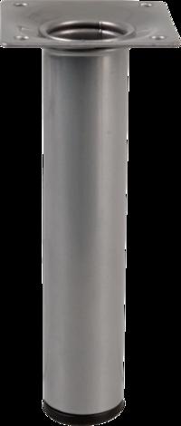 Метален крак 30x150мм сребърен