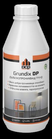 Дълбокопроникващ и заздравяващ грунд Grundix DP 1 л