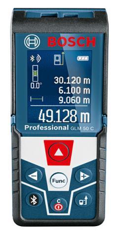 Лазерна ролетка GLM 50C Bosch Blue