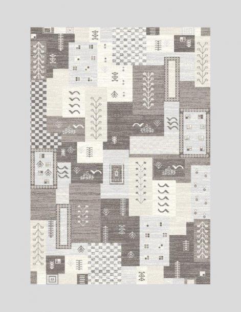 Килим Raymond 160x230 см сив