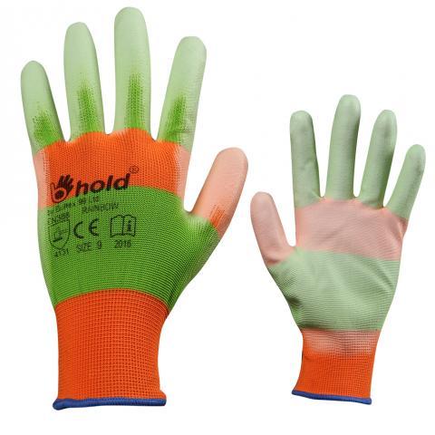 Ръкавици топени в полиуретан Rainbow n.9