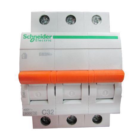 Автоматичен прекъсвач Schneider Е60N+ 3P 32A C