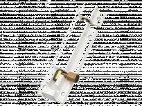 Резе алуминий 60мм бяло