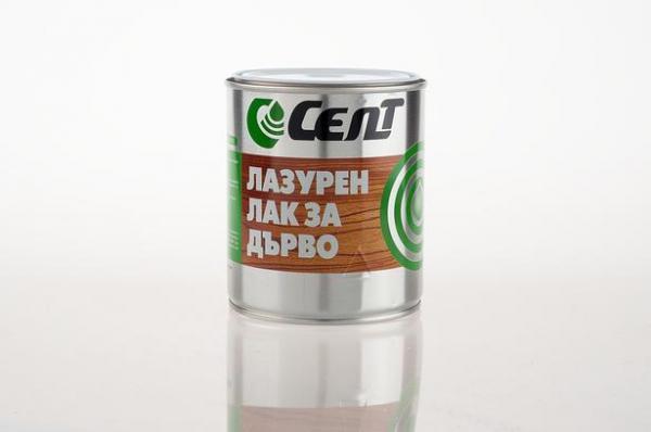 Лазурен лак Cent ебонит 0.6 л