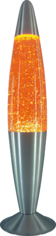 Настолна лампа Glitter 1x25W оранж