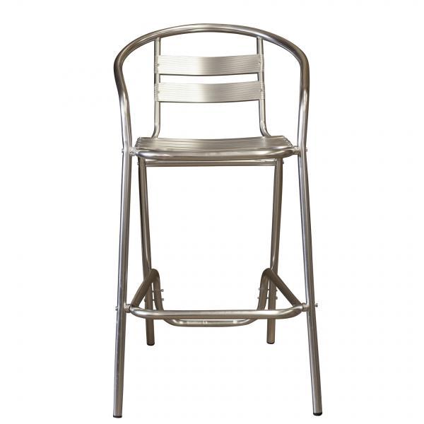 Алуминиев Бар стол 52х58х97 см