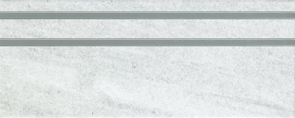 Декоративна фаянсова плочка Treviso grey inserto 20x50 см